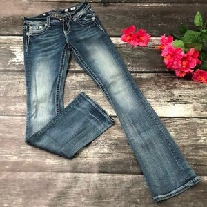 Miss Me Jeans 👖 Mid-Rise Boot 🖤 Size 26